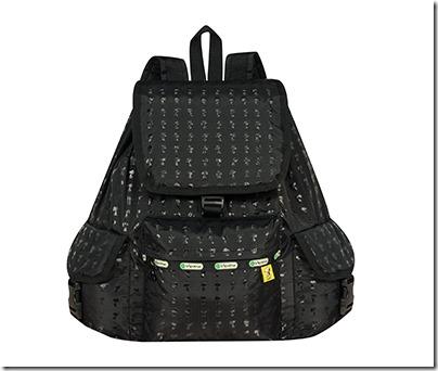 Peanuts X LeSportsac 7839 Voyager Backpack 02