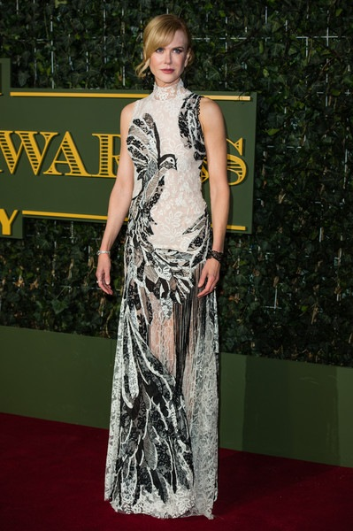 Nicole Kidman attends the Evening Standard Theatre Awards