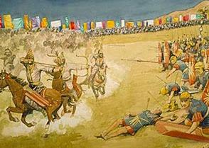 Военные катастрофы Рима: Карры