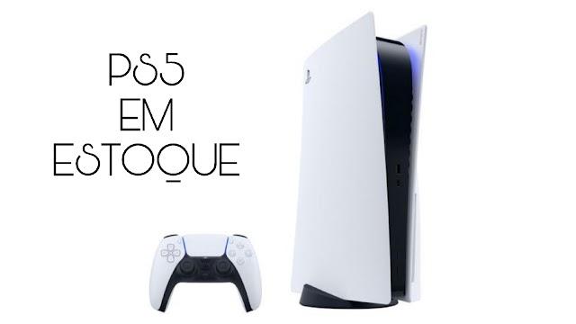 Playstation 5 em estoque no Magazine Luiza e com redução no preço