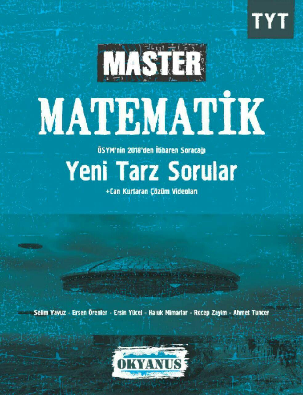 Okyanus Yayınları Master TYT Matematik Soru Bankası