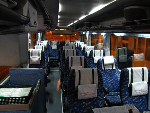 北海道北見バス「高速えんがる号」 2053 車内