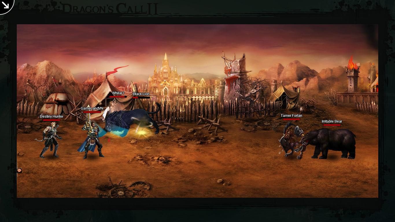 Một số hình ảnh về webgame Dragon's Call 2 - Ảnh 43