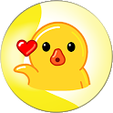 Baby Duck & Friends Animated Sticker for WhatsApp icon