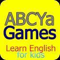 ABCya games Learn English Kids icon