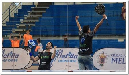 Uri Botello y Javier Ruiz conquistan en Melilla su segundo título de la temporada