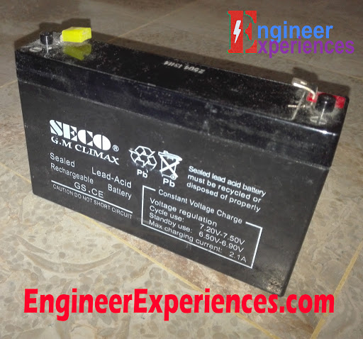 Sealed Lead Acid Battery (Dry Battery)