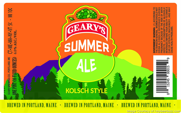 Geary's Adding Hef'Ah Bier & Summer Ale 16oz Cans