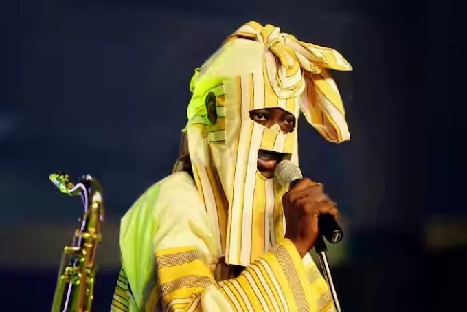 Lagbaja's Real Face Revealed (See Photo)