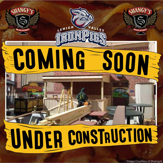 Shangy's & The Lehigh Valley IronPigs Bringing Real Craft beer To Coca-Cola Park