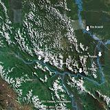 La région de Satipo et le Rio Tambo