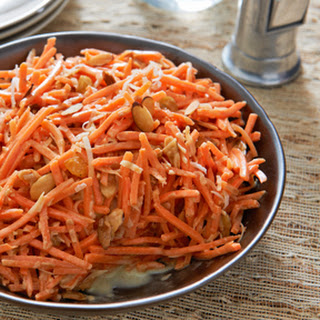 Coconut-Curry Carrot Salad.