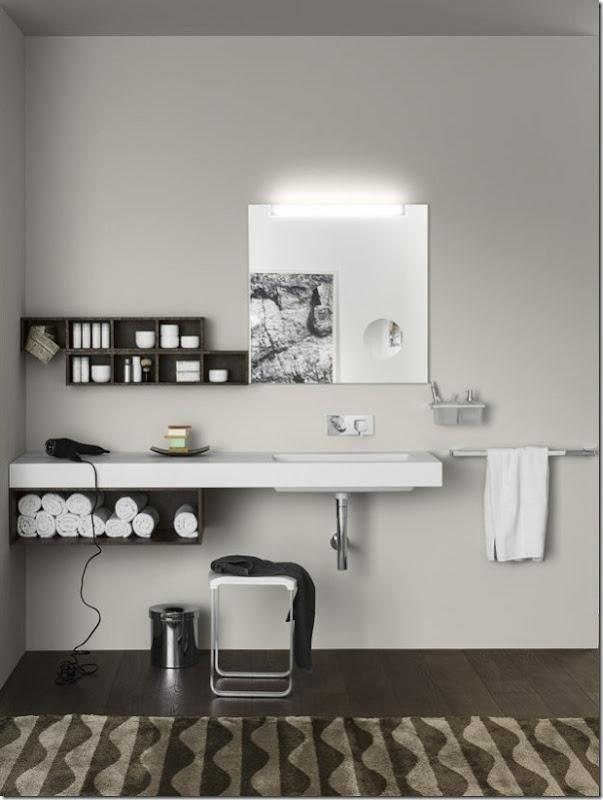 Arredare il bagno con i mobili Inda