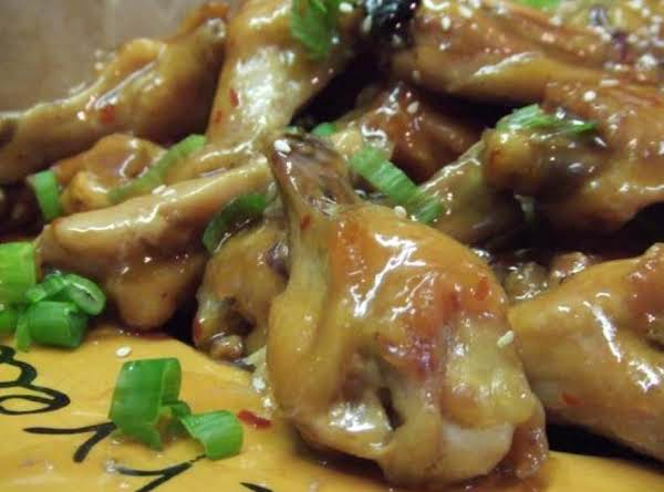 Polynesian Glazed Chicken Wings