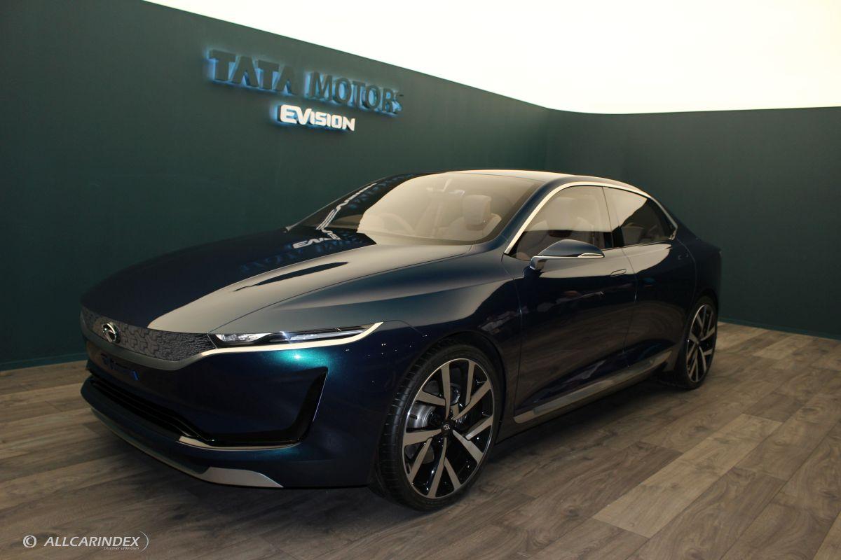 Tata evision concept for Tata motors future cars