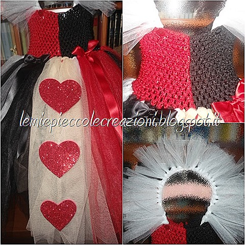 heart queen dress