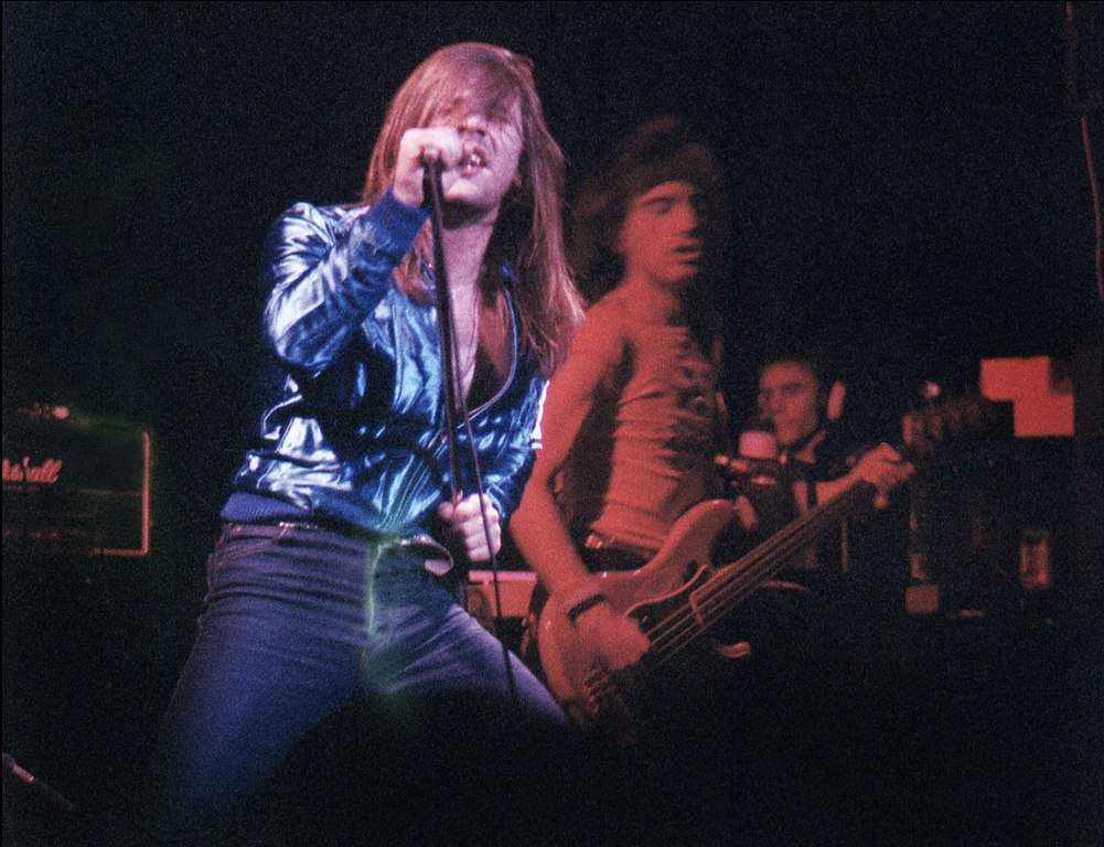 samson opening for Uriah Heep at the Lyceum 3rd December 1980