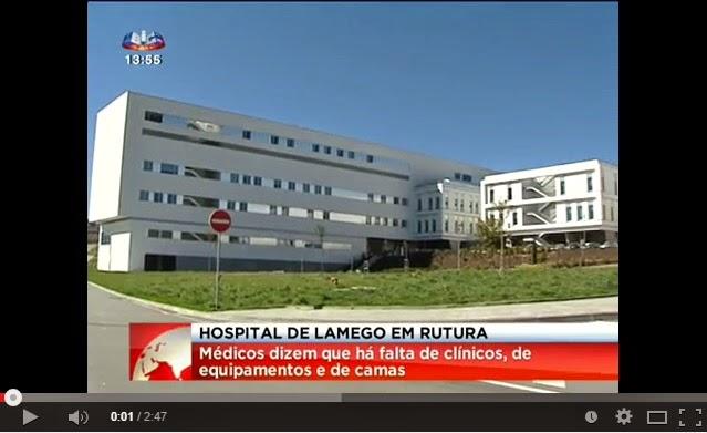 Vídeo - Hospital de Lamego perde valências após integração em centro hospitalar - SIC