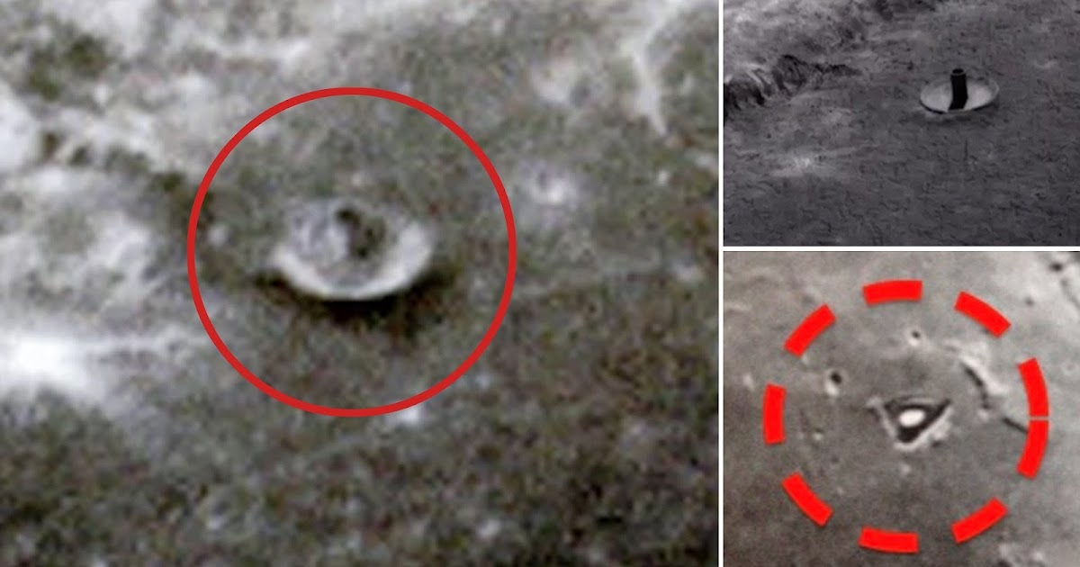 Proof of An Alien Presence on The Moon Without Any Doubt