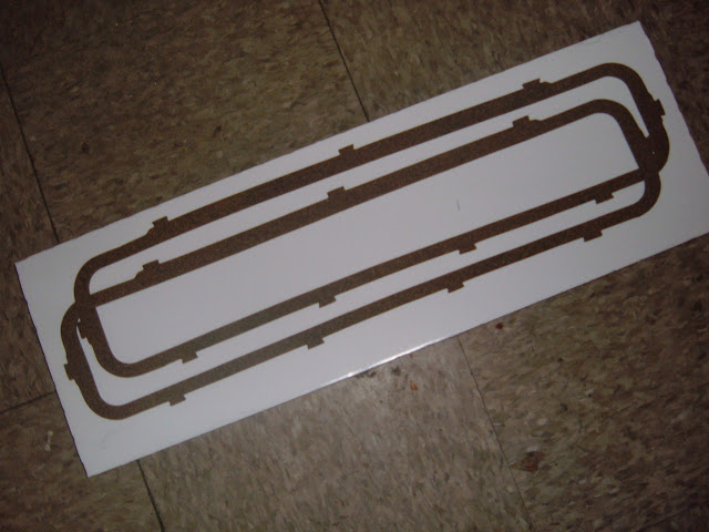 VCG-S .. Valve cover gaskets 1964-66 steel valve covers. 12.00