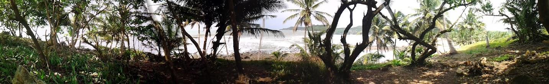 Photo: Katakor view from Ezile Bay Village (in Akwidaa western region Ghana)