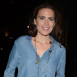 WWW.ENTSIMAGES.COM -       Hayley Atwell   at The Pride  Trafalgar Studio2 London August 10th 2013                                                    Photo Mobis Photos/OIC 0203 174 1069
