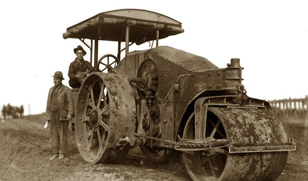 old-steam-roller-road-construction-circa-1920-california-views-mr-pat-hathaway-archives
