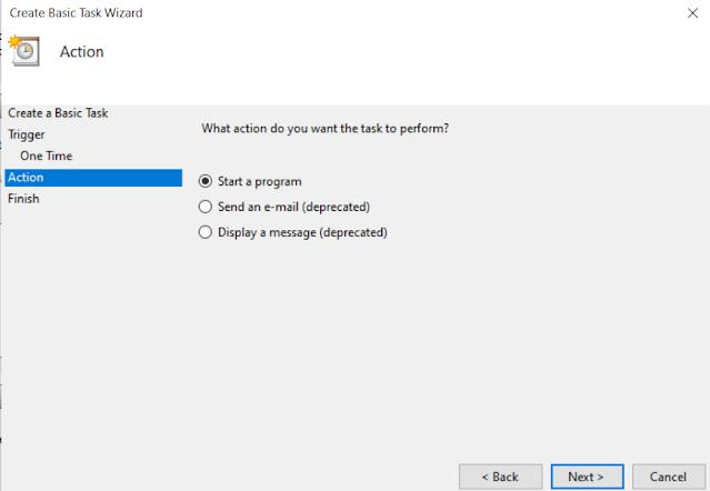 Schedule Windows Shutdown Task 4
