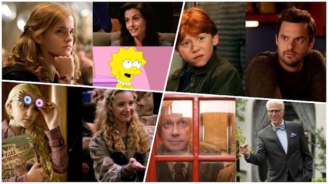 Personagens de Harry Potter e suas contrapartes em sitcom