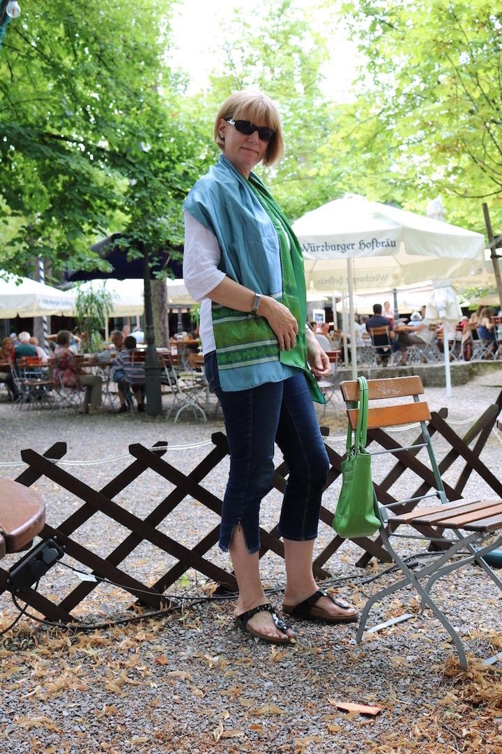 GreenTurquoiseScarf 5