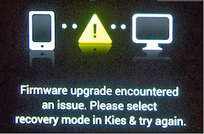 Firmware upgrade encountered an issue - Note 3