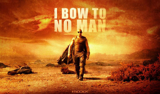 Riddick I Bow To No Man Poster