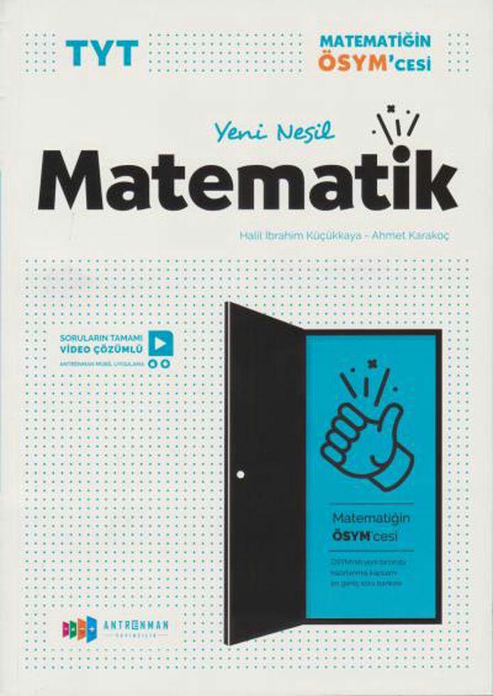 Antrenman Yayıncılık TYT Yeni Nesil Matematik