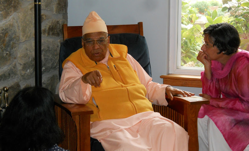 Swami Bhaskarananda visits in July