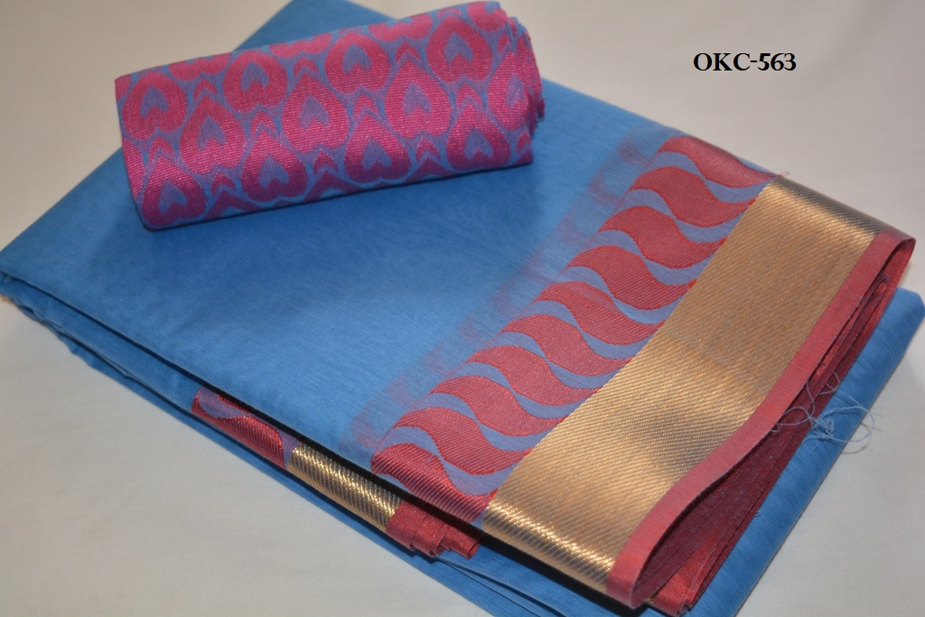 87450ff1f0d4c Kora Cotton Saree  Rs. 1400
