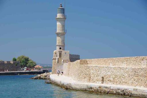La Canée (Χανιά), arrivée au phare.