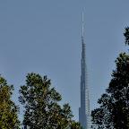 Burj Kalifa, najwyższy budynek na świecie, 830 m.
