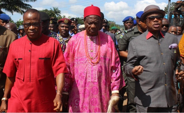Image result for pictures of Ezeemo and Obiano
