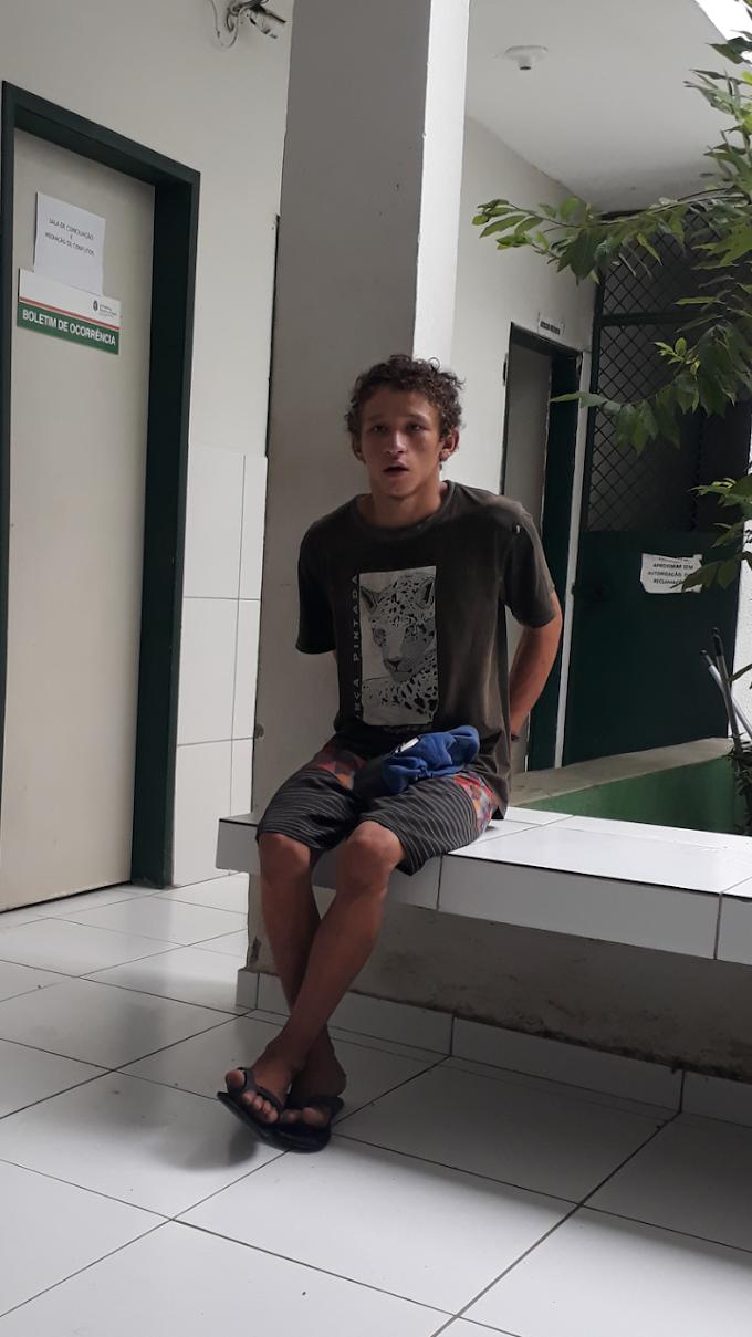 PRISÃO POR TRÁFICO DE DROGAS EM CRATEÚS