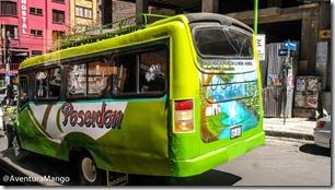 Ônibus em La Paz 2