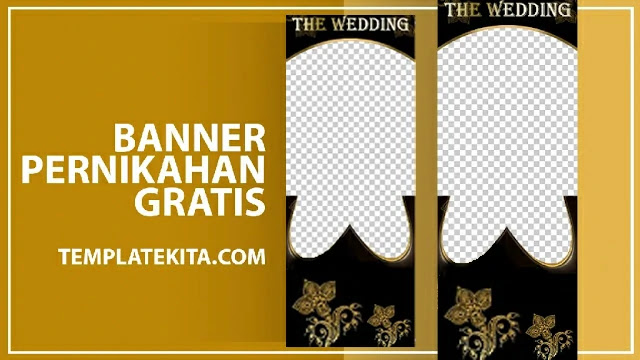 Kumpulan Banner Wedding PSD Photoshop Gratis