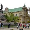 04-05-2013 | Warszawa | Krakowskie Przedmieście i pomnik Adama Mickiewicza