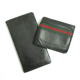 Gucci Wallet Pair