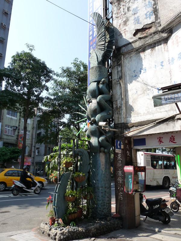 TAIWAN. Rues de Taipei près du métro Dingxi - P1160172.JPG