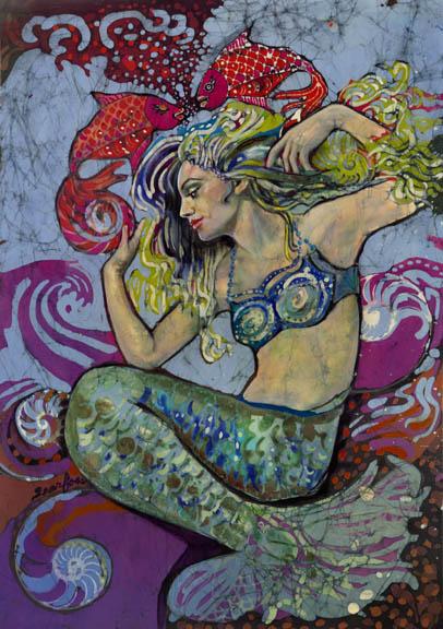 Mermaid By Janet Batik, Mermaids