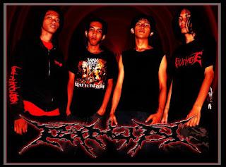 Photo wallpaper Ginjal band Grindcore Depok Jawa barat