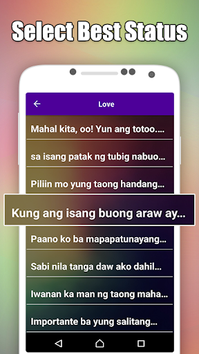 Pinoy, Tagalog, Hugot & Bisaya Love Quotes Editor by HJ