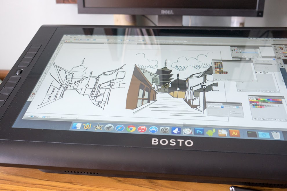 Bosto Kingtee 22HDX Pen Display Monitor