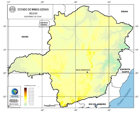 mapa de minas gerais,clima tempo,hidrografia vegetação,relevo