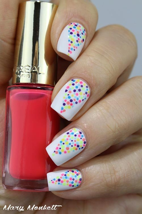 Simple and very easy nail art designs fashion 2d for Easy nail art designs at home videos
